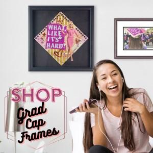 shop grad cap frames