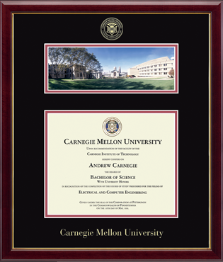 Campus Scene Diploma Frame in Galleria