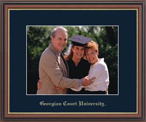 Georgian Court University Embossed Photo Frame in Williamsburg