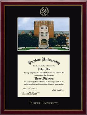 Campus Scene Diploma Frame - Memorial Union in Galleria