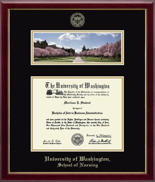 Campus Scene Edition Diploma Frame in Galleria