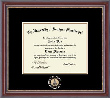 Masterpiece Edition Diploma Frame in Kensington Gold