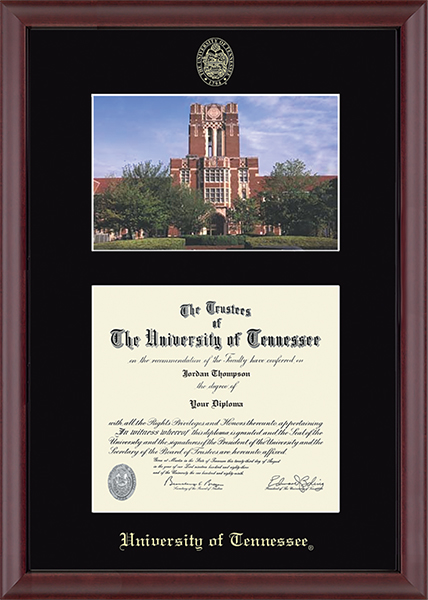 Campus Scene Diploma Frame in Camby