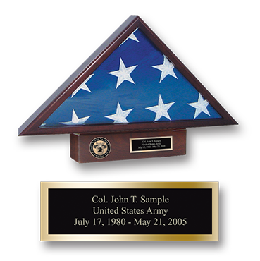 Masterpiece Medallion Memorial Flag Case