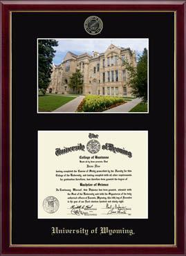 Campus Scene Diploma Frame in Galleria