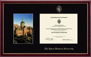 Campus Scene Certificate Frame in Galleria