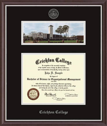 Campus Scene Diploma Frame in Devon