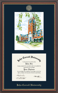 Litho Diploma Frame in Williamsburg