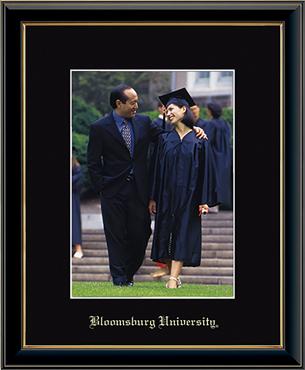 Bloomsburg University Embossed Photo Frame in Onexa Gold