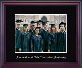 Assemblies of God Theological Seminary Embossed Photo Frame in Camby