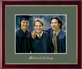 Midland College Gold Embossed Photo Frame in Galleria