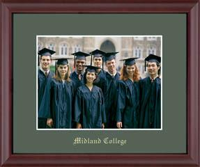 Midland College Gold Embossed Photo Frame in Camby