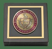 Bloomsburg University Masterpiece Medallion Paperweight