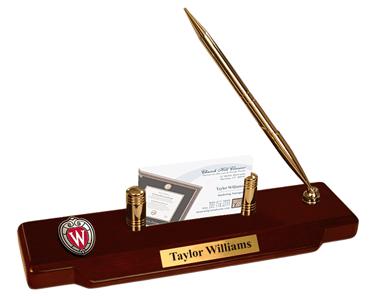 Spirit Shield Medallion Desk Pen Set