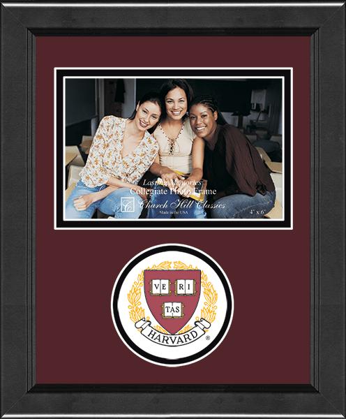 Lasting Memories Circle Logo Photo Frame