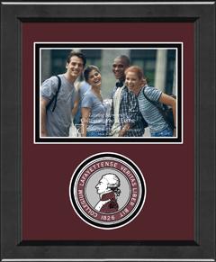 Lasting Memories Circle Logo Photo Frame in Arena