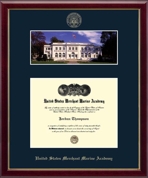 Wiley Hall Scene Diploma Frame in Galleria
