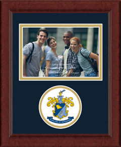 Choate Rosemary Hall Circle Logo Photo Frame in Sierra
