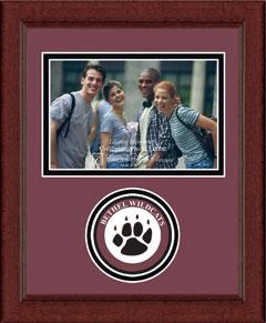 Lasting Memories Circle Logo Frame in Sierra