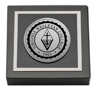 Silver Engraved Medallion Paperweight - Web Only