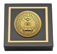 Gold Engraved Medallion Paperweight - Web Only