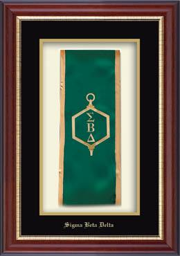 Commemorative Stole Shadow Box Frame in Newport