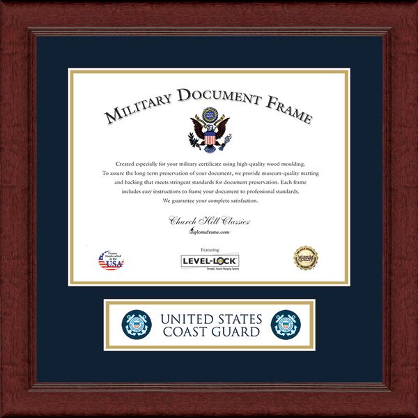 Lasting Memories Certificate Banner Frame in Sierra
