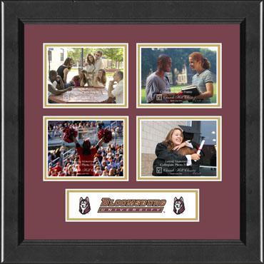 Bloomsburg University Lasting Memories Quad Collage Photo Frame in Arena