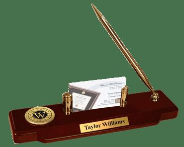 Gold Engraved Desk Pen Set