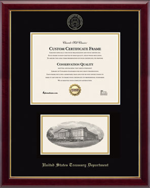 Embossed Edition Photo/Certificate Frame in Gallery