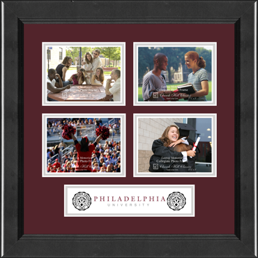 Lasting Memories Banner Collage Quad Photo Frame in Arena