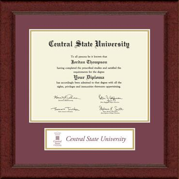 Banner Edition Diploma Frame in Sierra