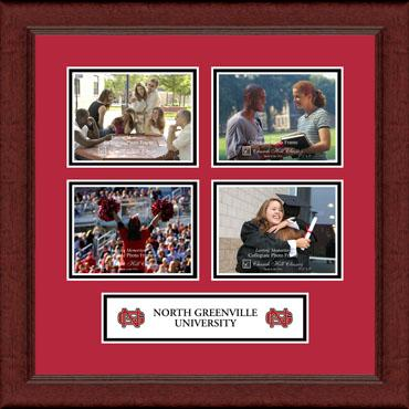 Lasting Memories Quad Banner Collage Photo Frame in Sierra