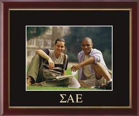 Greek Letters Embossed Photo Frame in Galleria