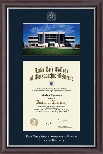 Erie Campus Scene Edition Diploma Frame in Devonshire