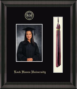 Lock Haven University Tassel Edition Photo Frame in Omega