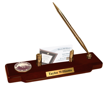 Masterpiece Medallion Desk Pen Set