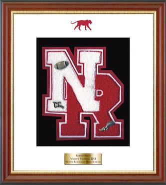 Varsity Letter Frame in Newport