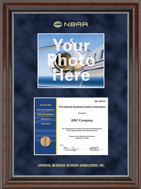 Double Certificate Frame in Chateau