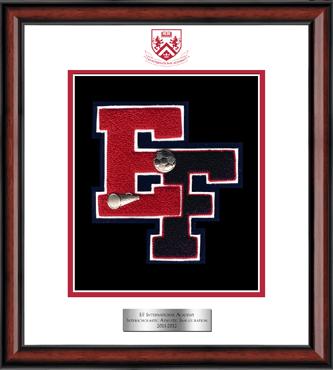Varsity Letter Frame in Southport