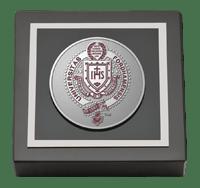 Pewter Masterpiece Medallion Paperweight