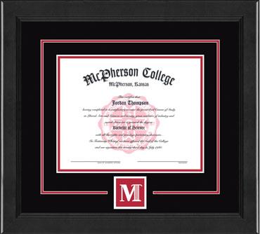 Lasting Memories Logo Diploma Frame in Arena