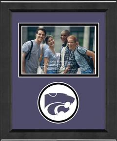 Kansas State University Lasting Memories Spirit Circle Logo Photo Frame in Arena