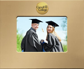 Carroll College at Montana MedallionArt Classics Photo Frame