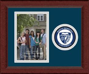 Lasting Memories Circle Logo Photo Frame in Sierra