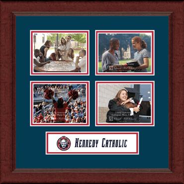 Lasting Memories Quad Banner Collage Photo Frame in Sierra