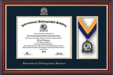 Medal Certificate Frame in Newport