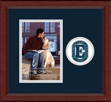 "5""x7"" - Lasting Memories Circle Logo Photo Frame in Sierra"