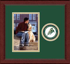 "5""x7"" - Lasting Memories Circle Logo Photo Frame in Sierra"