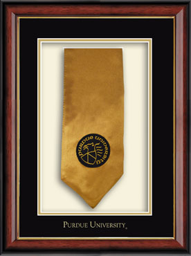 Commemorative Stole Shadow Box Frame in Southport Gold